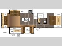 Floorplan - 2016 Prime Time RV Avenger 33RCI