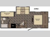 Floorplan - 2016 CrossRoads RV Sunset Trail Ultra Lite 237BH