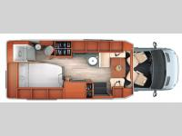 Floorplan - 2016 Leisure Travel Serenity 24CB