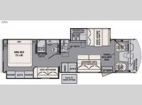 Floorplan - 2016 Forest River RV FR3 32DS