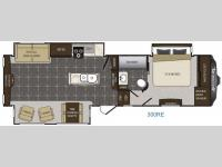 Floorplan - 2016 Keystone RV Avalanche 300RE