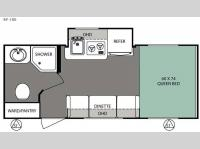 Floorplan - 2016 Forest River RV R Pod RP-180