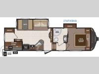Floorplan - 2016 Keystone RV Sprinter 274FWBHS