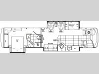Floorplan - 2007 Damon Tuscany 4076