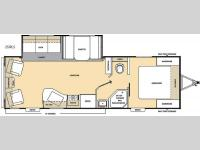 Floorplan - 2016 Coachmen RV Catalina SBX 251RLS