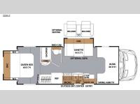 Floorplan - 2016 Coachmen RV Prism 2250 LE