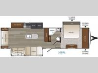 Floorplan - 2016 Keystone RV Outback 328RL