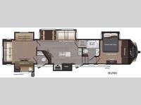 Floorplan - 2016 Keystone RV Montana High Country 362RD