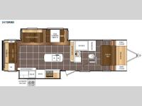 Floorplan - 2016 Prime Time RV Tracer 3175RSD