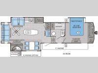 Floorplan - 2016 Jayco Eagle 317RLOK
