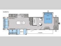 Floorplan - 2016 Jayco Eagle 330RSTS
