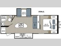 Floorplan - 2016 Dutchmen RV Kodiak Express 253RLSL