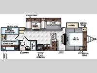 Floorplan - 2016 Forest River RV Rockwood Ultra Lite 2905WS