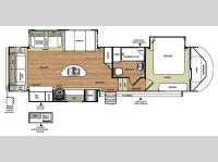 Floorplan - 2016 Forest River RV Wildwood Heritage Glen 276RLIS