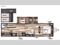 Floorplan - 2016 Forest River RV Wildwood 30LOFTK