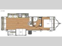 Floorplan - 2016 Forest River RV Vibe 311RLS