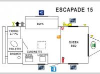 Floorplan - 2015 Prolite Escapade 15
