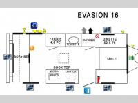 Floorplan - 2015 Prolite Evasion 16