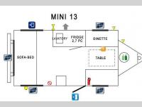 Floorplan - 2015 Prolite Mini 13