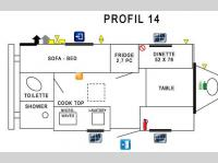 Floorplan - 2015 Prolite Profil 14