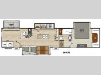 Floorplan - 2016 Coachmen RV Brookstone 364DN