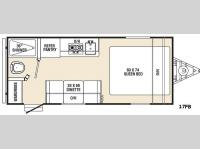 Floorplan - 2016 Viking Ultra-Lite 17FB
