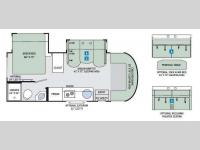 Floorplan - 2016 Thor Motor Coach Synergy SD24