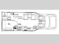 Floorplan - 2007 Phoenix USA Phoenix Cruiser 2350