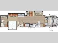Floorplan - 2017 Dynamax DX3 37RB