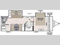 Floorplan - 2017 Coachmen RV Freedom Express 276RKDS