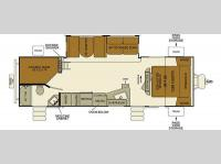 Floorplan - 2017 EverGreen RV i-Go G291DBS