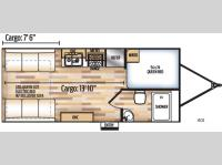Floorplan - 2017 Coachmen RV Adrenaline 19CB