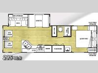 Floorplan - 2006 Gulf Stream RV Conquest 295RLS