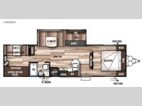 Floorplan - 2017 Forest River RV Wildwood 30KQBSS