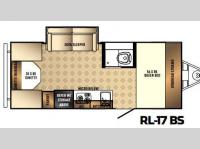 Floorplan - 2017 Palomino Real-Lite Mini 17-BS