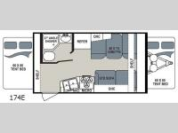 Floorplan - 2017 Dutchmen RV Aerolite 174E