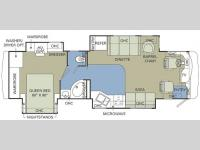 Floorplan - 2007 Holiday Rambler Neptune 36 PDQ