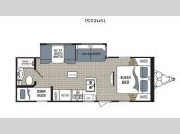 Floorplan - 2017 Dutchmen RV Kodiak Express 255BHSL