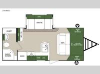 Floorplan - 2016 Forest River RV Surveyor 200MBLE