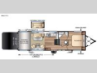Floorplan - 2017 Forest River RV Stealth WA2715