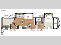 Floorplan - 2017 Forest River RV Sandpiper Select 357TRIP