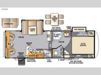 Floorplan - 2017 Forest River RV Wildcat Maxx 242RLX