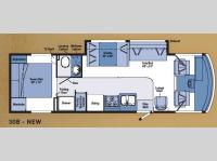 Floorplan - 2007 Winnebago Vista 30B
