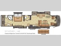 Floorplan - 2017 Entegra Coach Anthem 44B