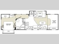 Floorplan - 2007 Fleetwood RV Tioga 31M