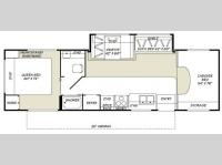 Floorplan - 2007 Fleetwood RV Tioga 31W