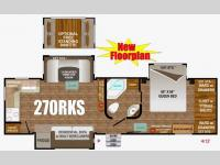 Floorplan - 2016 Outdoors RV Timber Ridge 270RKS