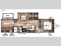 Floorplan - 2017 Forest River RV Wildwood 28CKDS