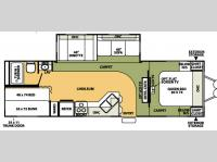 Floorplan - 2007 Forest River RV Flagstaff 829BHSS