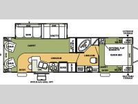 Floorplan - 2007 Forest River RV Flagstaff 831RLSS